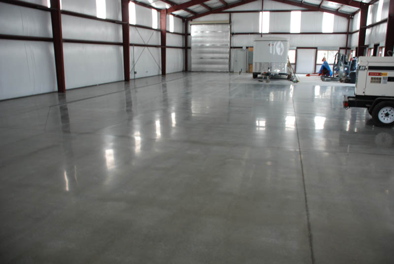 Polished Concrete With Htc Superfloors