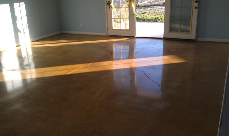 Decorative Concrete Floors Residential : Pristine concrete paso robles ca polished