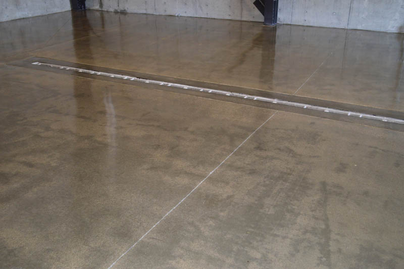 Clear Coat Cement : Pristine concrete templeton ca sextant winery grind