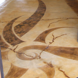 stained concrete santa barbara