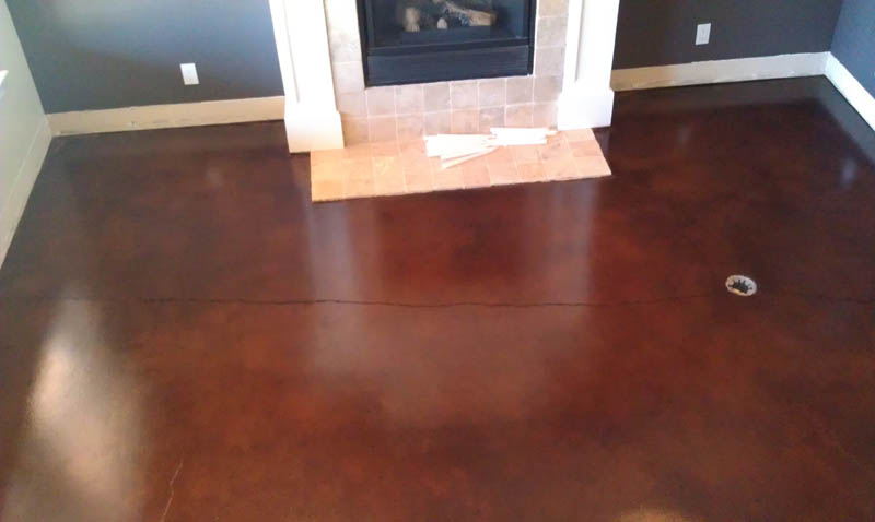 Pristine Concrete Arroyo Grande Ca Stained Residential Floors Finish