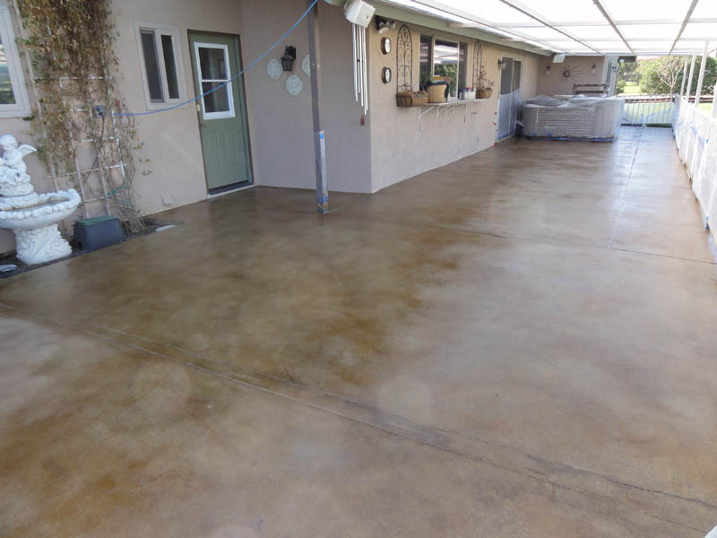 Attirant Pristine Concrete Paso Robles CA Stained Concrete Patios