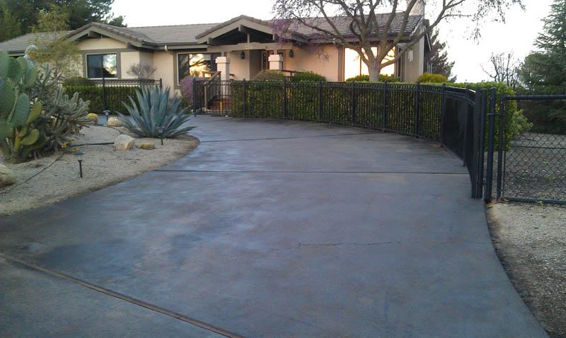 Pristine Concrete Paso Robles Ca Stained Concrete
