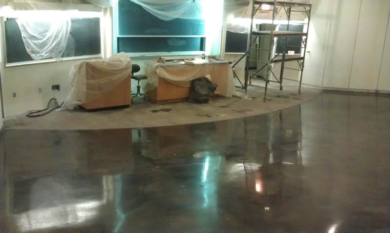 Pristine Concrete Los Angeles Ca Polished Occidental College 2