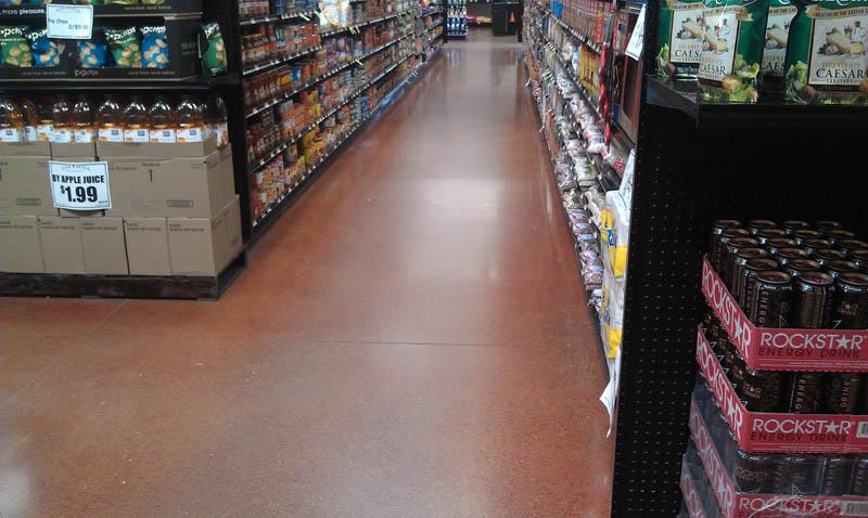 Pristine-concrete-Paso-Robles-CA-Polished-concrete-Grocery-store
