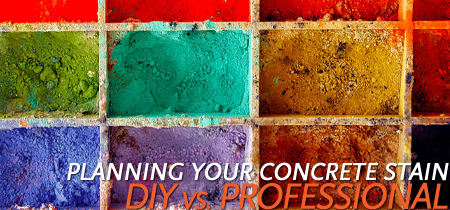 Planning Your Concrete Stain concrete contractor