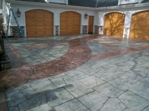 industrial stamped concrete