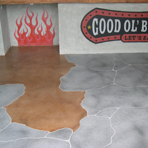 stained concrete paso robles